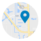 Dedicated Dentist Location Map